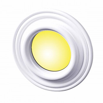 Spot Light Ring White Trim 5 ID x 9 OD Mini Medallion