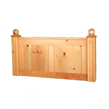 Headboard Country Pine Wentworth Twin Size